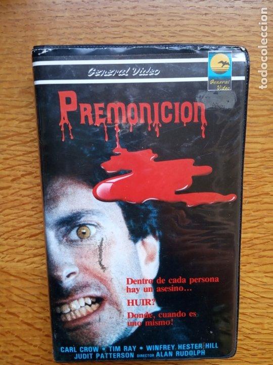 PREMONICION - ALAN RUDOLPH - TERROR ÚNICA EN TC (Cine - Películas - VHS)