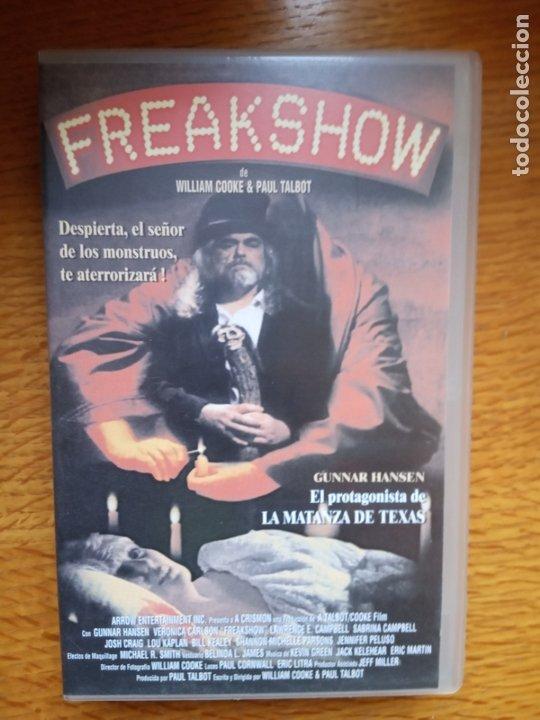 FREAKSHARE TERROR ÚNICA EN TC (Cine - Películas - VHS)