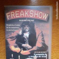 Cine: FREAKSHARE TERROR ÚNICA EN TC. Lote 173531500