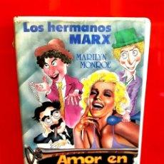 Cine: LOS HERMANOS MARX EN AMOR EN CONSERVA (1949) VIDEO DISCO . Lote 173532815