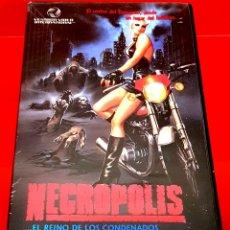 Cine: NECROPOLIS (1987) - EL REINO DE LOS CONDENADOS TERROR UNICA EN TC. Lote 173534977
