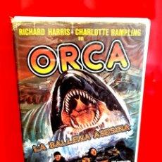 Cine: ORCA, LA BALLENA ASESINA (1977) - 1ª EDICIÓN VIDEODISCO. Lote 173535662