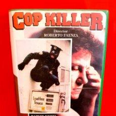 Cine: COP KILLER (1983) ASESINO DE POLICIAS - JOHNNY ROTTEN HARVEY KEITEL. Lote 173535703