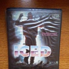 Cine: ICED VHS - SLASHER TERROR. Lote 173570424