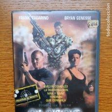 Cine: ALMAS DE ACERO (CYBORG COP 3) VHS - SERIE B DE SCI-FI . Lote 173588155