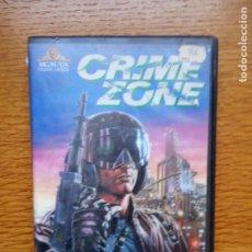 Cine: CRIME ZONE (1988) VHS - CIENCIA FICCION PRODUCIDA POR ROGER CORMAN. Lote 173588228