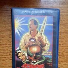Cine: SCORPION THUNDERBOLT. VHS . TERROR + ARTES MARCIALES RAREZA. Lote 173589510
