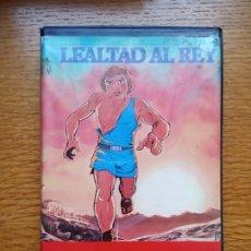Cine: LEALTAD AL REY A.KA. LA CORTE DEL REY RAREZA DE ANIMACIÓN PEREIRA IMPORT ÚNICA EN TC. Lote 173590237