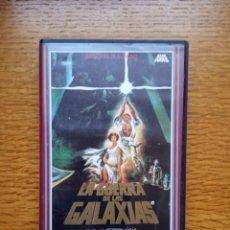 Cine: LA GUERRA DE LAS GALAXIAS - COLECCION GRANDES DEL CINE Nº 1 - CBS FOX 1990. Lote 173590299