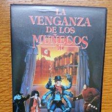 Cine: LA VENGANZA DE LOS MUÑECOS- VHS- (PUPPET MASTER) - FULL MOON. Lote 173590869