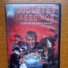 Cine: JUGUETES ASESINOS (CURSE OF THE PUPPET MASTER) TERROR. Lote 173590967