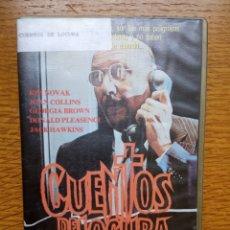 Cine: CUENTOS DE LOCURA - DONALD PLEASENCE - KIM NOVAK - JOAN COLLINS TERROR UNICA EN TC. Lote 173592013