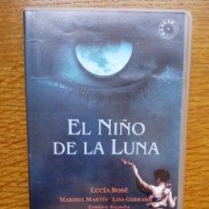 Cine: EL NIÑO DE LA LUNA (AGUSTÍN VILLARONGA, 1989) - VHS RAREZA ESPAÑOLA. Lote 173592357