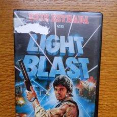 Cine: LIGHT BLAST - ENZO CASTELLARI - ERIK ESTRADA DISTER 1985. Lote 173592522