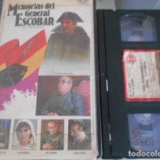 Cine: VHS - MEMORIAS GENERAL ESCOBAR - 57. Lote 173596722
