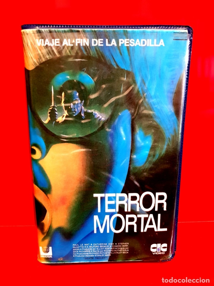 TERROR MORTAL (1982) - DEATH VALLEY (Cine - Películas - VHS)