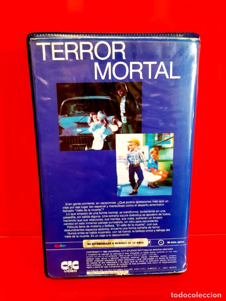 Cine: TERROR MORTAL (1982) - Death Valley - Foto 2 - 173607090