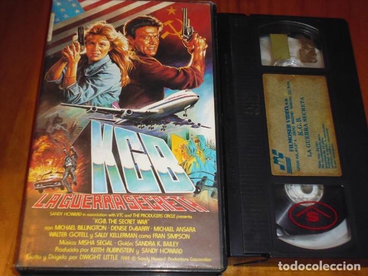 KGB . LA GUERRA SECRETA - VHS - PEDIDO MINIMO 6 EUROS (Cine - Películas - VHS)
