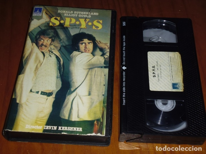 SPYS . DONALD SUTHERLAND - VHS - PEDIDO MINIMO 6 EUROS (Cine - Películas - VHS)