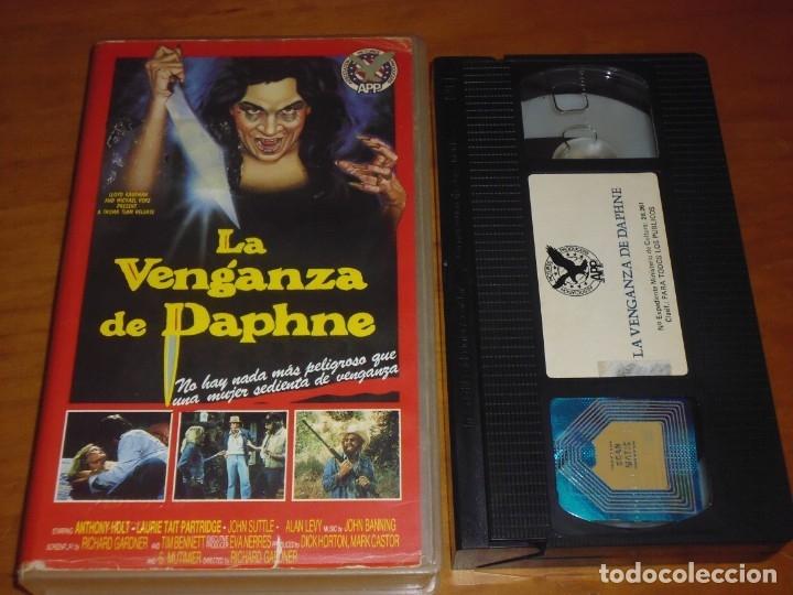 LA VENGANZA DE DAPHNE - TERROR - VHS - TROMA (Cine - Películas - VHS)