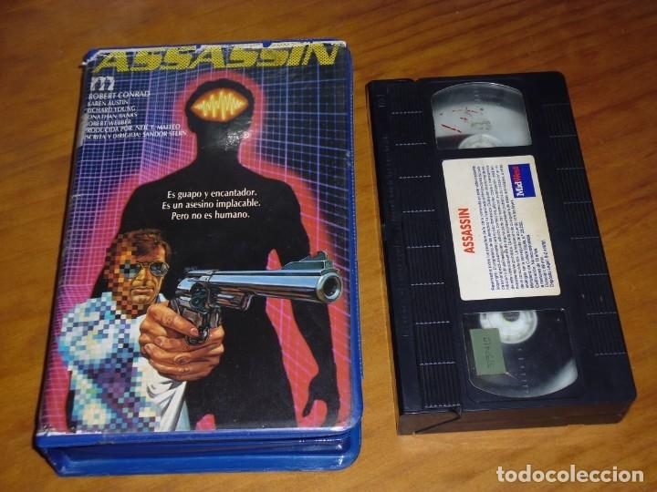 ASSASSIN - ROBERT CONRAD - VHS - PEDIDO MINIMO 6 EUROS (Cine - Películas - VHS)