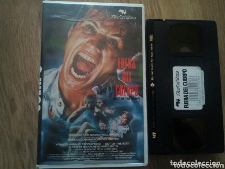 FUERA DEL CUERPO VHS TERROR ÚNICA EN TC (Cine - Películas - VHS)