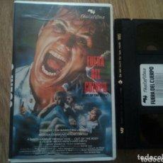 Cine: FUERA DEL CUERPO VHS TERROR ÚNICA EN TC. Lote 173782010