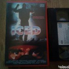 Cine: ICED VHS SLASHER SANGRIENTO. Lote 173780800