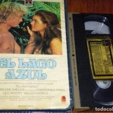 Cine: EL LAGO AZUL - VHS EDICION CAJA GRANDE VIDEOCLUB. Lote 173800515