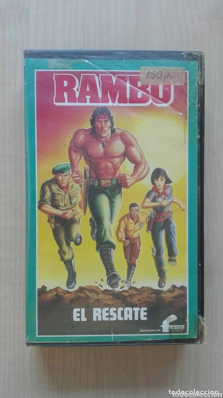 CINTA VIDEO VHS RAMBO EL RESCATE FILMAYER (Cine - Películas - VHS)