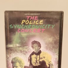 Cine: THE POLICE SYNCHRONICITY CONCERT(VHS). Lote 173815203