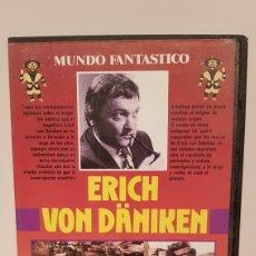 Cine: REGRESO A LAS ESTRELLAS, ERICH VON DÄNIKEN(MUNDO FANTASTICO) DOCUMENTAL VHS.. Lote 173815310