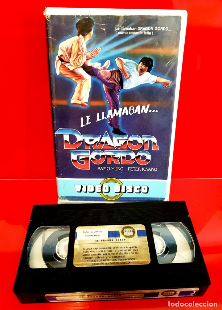 Cine: LE LLAMABAN DRAGON GORDO - SAMMO HUNG (1978) - EDIC. VIDEODISCO UNICA TC - Foto 3 - 173821262