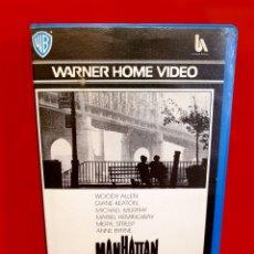 Cine: MANHATTAN (1979) - 1ª EDICION WARNER WOODY ALLEN. Lote 173821659