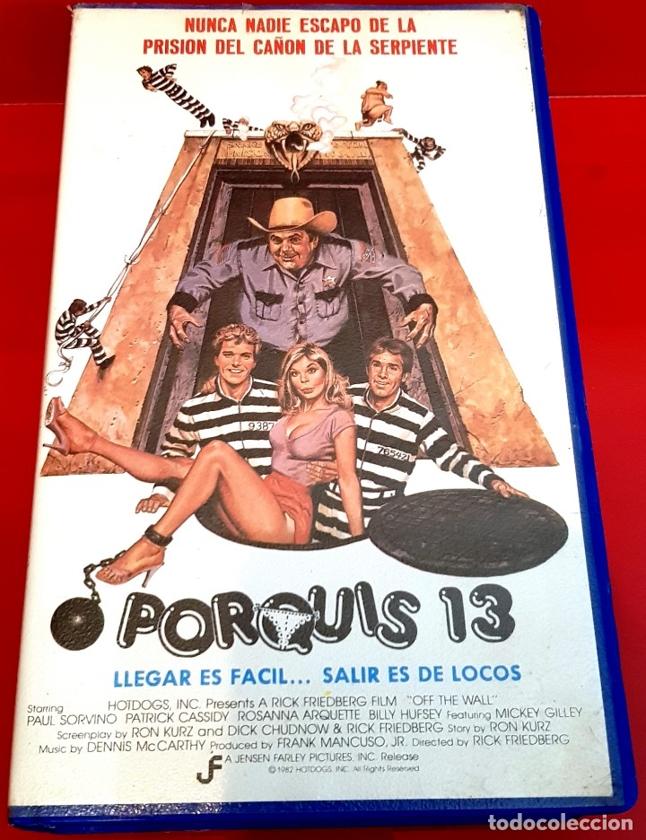 PORQUIS 13 - TEEN MOVIE DESCATALOGADA (Cine - Películas - VHS)