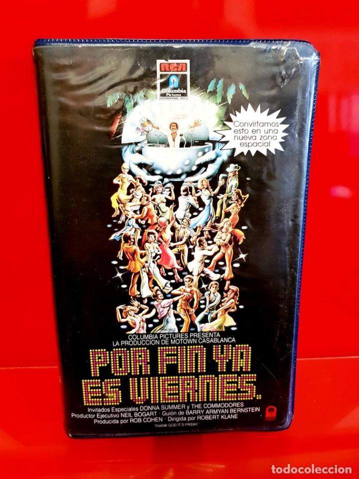 POR FIN YA ES VIERNES (1978) DONNA SUMMER (Cine - Películas - VHS)