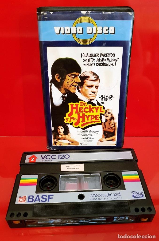 Cine: DR. HECKYL Y MR.HYPE - RARÍSIMA VIDEO 2000! - Foto 3 - 173834038