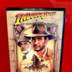 Cine: INDIANA JONES Y LA ÚLTIMA CRUZADA (1989) - INDIANA JONES AND THE LAST CRUSADE. 1ª EDICIÓN!!!. Lote 173865167