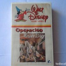 Cine: PELÍCULA WALT DISNEY. VHS, OPERACIÓN COWBOY, CON ROBERT TAYLOR. PRIMERA EDICIÓN EN VIDEO.. Lote 173866910