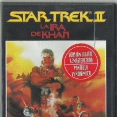 Cine: STAR TREK II. LA IRA DE KHAN. Lote 173906014