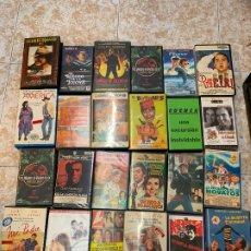 Cine: LOTE DE 24 PELICULAS VHS, TODAS FOTOGRAFIADAS. Lote 173930817