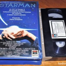 Cine: STARMAN - VHS 1ª EDICION CAJA GRANDE VIDEOCLUB. Lote 173956450