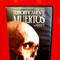 Cine: TERRORIFICAMENTE MUERTOS (1987) - EVIL DEAD - SAM RAIMI - 1ª EDICIÓN. Lote 173959585