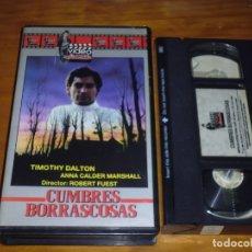 Cine: CUMBRES BORRASCOSAS . ROBERT FUEST - VHS - PEDIDO MINIMO 6 EUROS. Lote 173984722