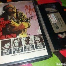 Cine: LOS LARGOS DIAS DE LA VIOLENCIA- VHS- TOMAS MILIAN- CATHERINE SPAAK- 1 EDICION. Lote 174016037