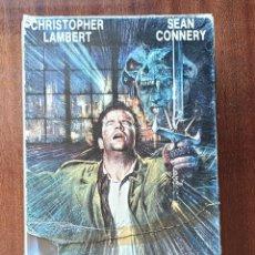 Cine: VHS - PACK LOS INMORTALES 1 Y 2. Lote 174029529