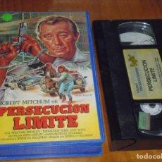 Cine: PERSECUCION LIMITE . ROBERT MITCHUM . VHS - PEDIDO MINIMO 6 EUROS. Lote 174182352