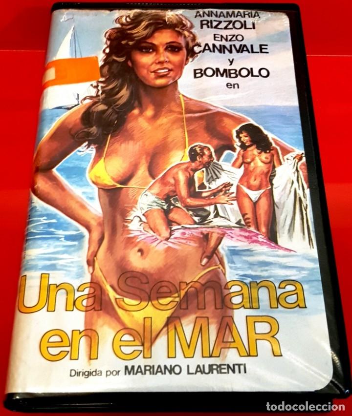 UNA SEMANA EN EL MAR (1981) - EDICIÓN INEDITA DE VIDEOCLUB VALFER EN TC (Cine - Películas - VHS)