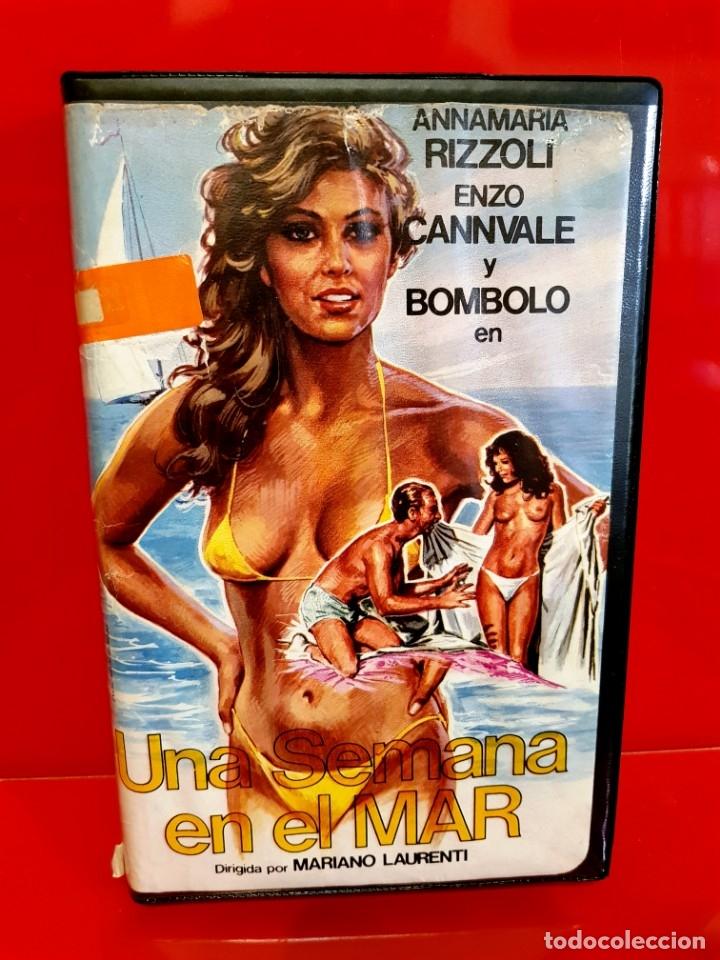 Cine: UNA SEMANA EN EL MAR (1981) - EDICIÓN INEDITA DE VIDEOCLUB VALFER EN TC - Foto 2 - 174194480