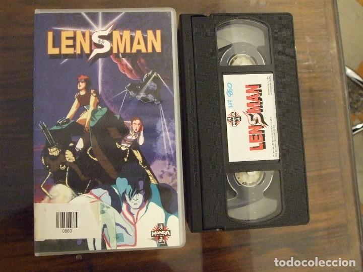 LENSMAN - YOSHIAKI KAWAJIRI - MANGA 1995 (Cine - Películas - VHS)